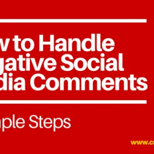 How to Handle Negative Social Media Comments by CreatesYou