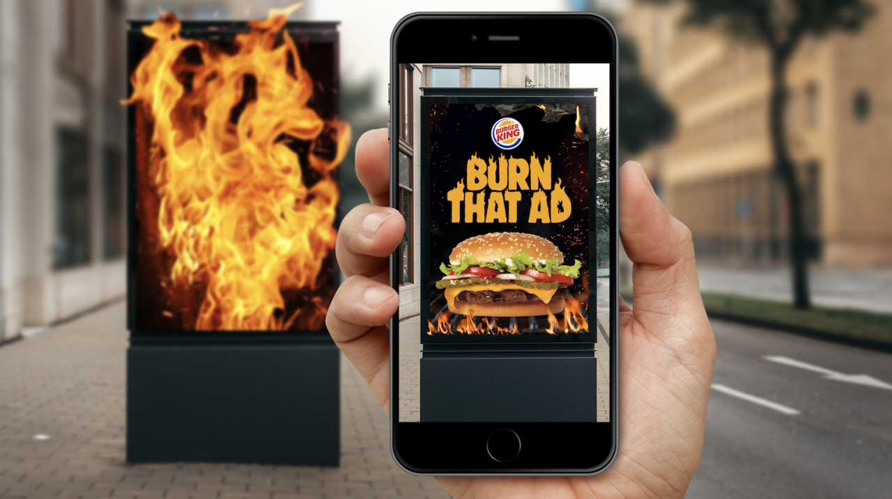 BURN THAT AD BURBER KING - Createsyou.com