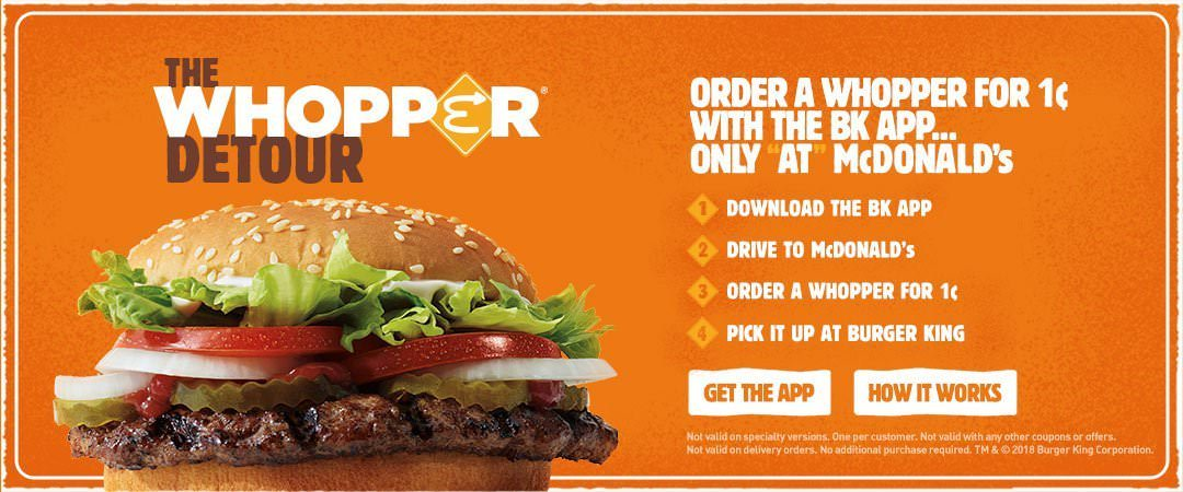 The Whopper Detour - Burger King