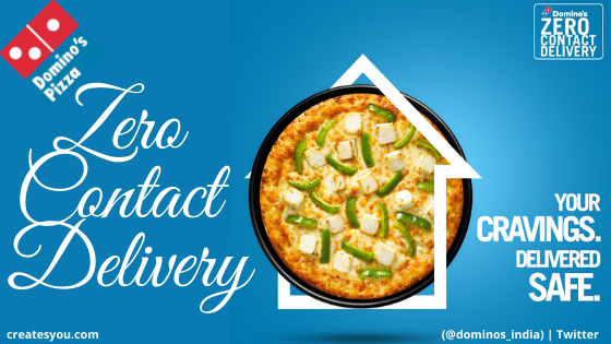 Domino's Pizza - Zero Contact Delivery Blog by Createsyou