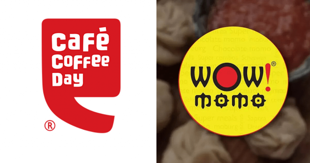 Wow Momo and Cafe Coffee Day Collaboration - Restaurant Marketing During COVID-19